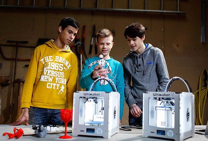 3D printer onderwijs